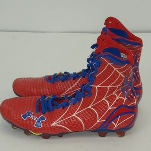 MENS UNDER ARMOUR SPIDER MAN FOOTBALL CLEATS